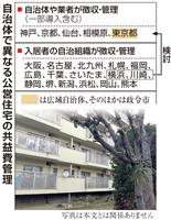 【住宅クライシス】横浜、川崎市「入居者任せ」改善へ、公営住宅の共益費管理問題
