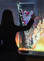 コロナ禍 デジタルアート楽しむ 千葉市美術館で「動く浮世絵」体験