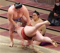 これぞ正代の相撲!? また逆転勝ちで2敗堅守 大相撲初場所