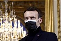 「125円でコロナ学食」 仏大統領が表明、大学生支援