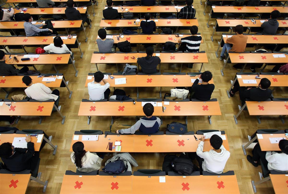 相次ぐ大学入試の方法変更 頭抱える受験生