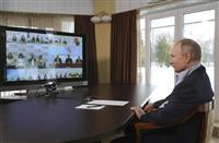 プーチン氏、抗議デモ批判「違法行為」と拘束正当化