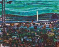 【アートウォッチ】巨匠の生涯、一枚に凝縮 桑久保徹の個展