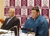 武将山「真っ向勝負で」 大相撲春場所で新十両昇進