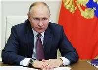 プーチン氏「内政干渉は軍事衝突リスクに」 欧米を牽制