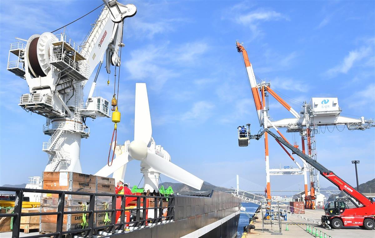 九電みらいエナジーなどが長崎・五島沖で「潮流発電」の実証実験…