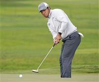 松山が68で40位に浮上 米男子ゴルフ第2日