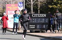 先頭集団は五輪代表の2人、ペース設定は日本記録視野