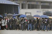 WHO、武漢市場調査は1時間余り 厳重な警戒態勢