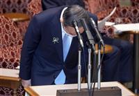 陳謝の首相 揺さぶる野党 衆参議運委で「銀座深夜会合」攻防