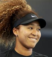 大坂、今季初戦で快勝 全豪テニス女子前哨戦