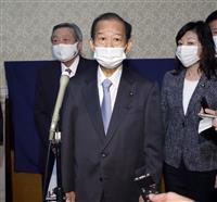 自民・二階幹事長、河井案里被告の議院辞職でコメント「信頼回復に努める」