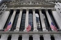 NY株続伸、36ドル高 経済対策の早期実現期待