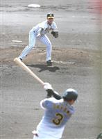 2年目の阪神・西純が成長アピール 巧みな投球術披露