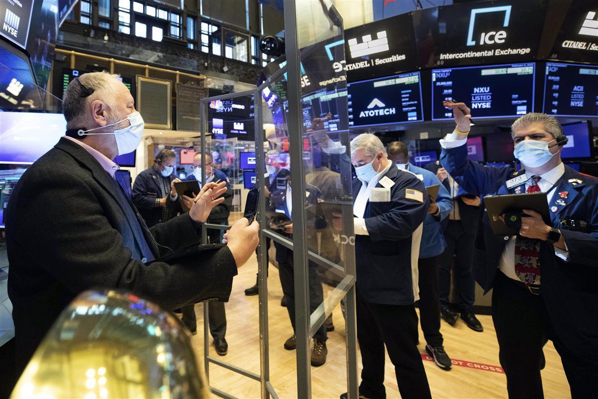 米ニューヨーク証券取引所=4日(AP)