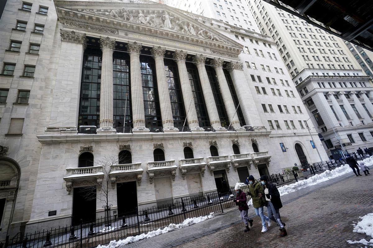 米ニューヨーク証券取引所=3日(ロイター)