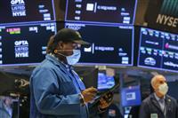 NY株5日続伸、92ドル高 経済対策に期待