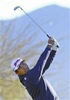 松山英樹「思うように打てなかった」 米男子ゴルフで追い上げ誓う