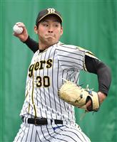 阪神ルーキー、もう一人の佐藤が監督にアピール