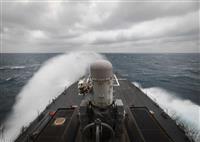 米艦が南シナ海パラセル諸島で航行の自由作戦 バイデン政権下で初