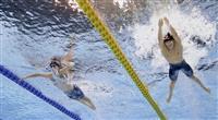佐藤翔馬、日本記録に迫る快泳 池江は復帰後初の表彰台