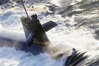 乗員3人軽傷、潜望鏡など損傷 海自潜水艦衝突、政府は情報連絡室