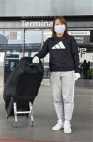 女子ゴルフの畑岡が米5季目へ渡米「最低限1勝はしたい」