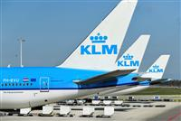 合成燃料混ぜて旅客機運航 KLM、脱化石燃料へ一歩
