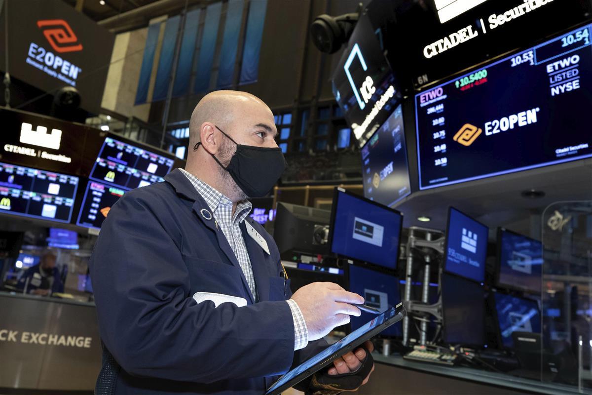 米ニューヨーク証券取引所=8日(AP)