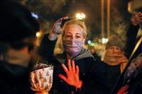 露反体制派ナワリヌイ氏の妻がドイツに出国