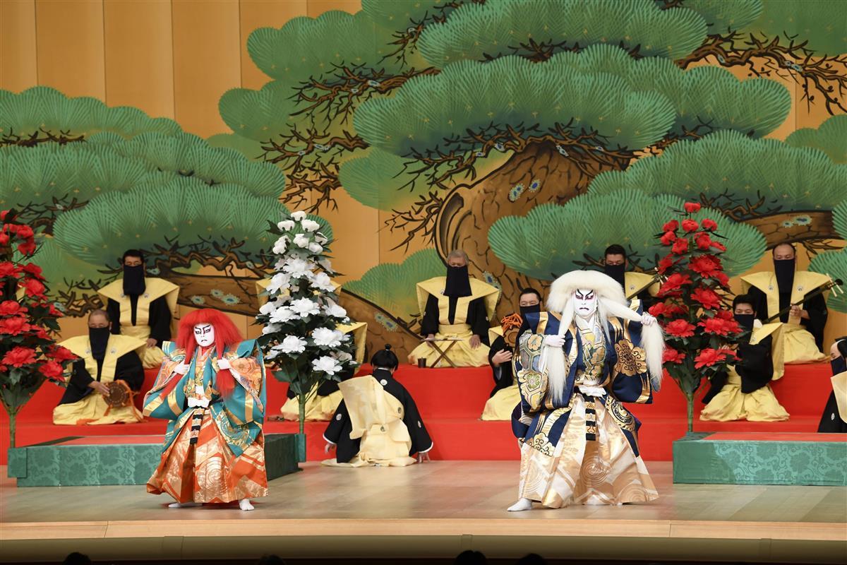 【鑑賞眼】歌舞伎座「連獅子」 中村屋四代に思い馳せ