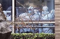 中国、コロナ初確認前に同様の症状で90人入院か 米紙報道
