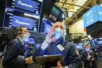 NY株反落、7ドル安 利益確定売り