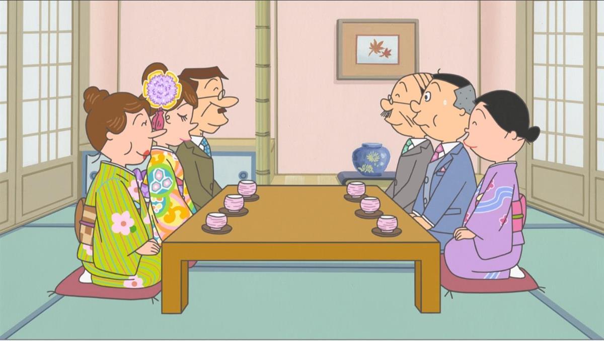 若かりしノリスケさん描く「サザエさん バレンタインデースペシ…