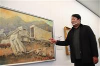 「被災地、ひもとくきっかけに」 岩手のデザイナーが被災地を描く油絵の展示会 宮城