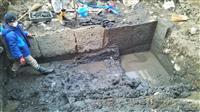 前橋城大手門石垣を発掘 17世紀、廃城前の遺構「貴重な発見」
