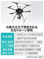 大阪公立大にドローン専門科目設置へ 令和4年度開学