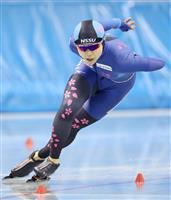 高木美帆、タイムにこだわり自身の国内最高を1秒30も更新 スピードスケート全日本選抜女…