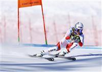 女子滑降、ズターが初優勝 アルペン世界選手権