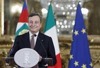 イタリア新首相に欧州中銀前総裁ドラギ氏就任へ