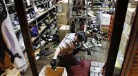 突き上げる揺れ「東日本大震災並みに強く感じた」 震度6弱の福島・南相馬