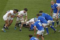イングランドが初勝利 ラグビー欧州6カ国対抗