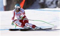 クリヒマイヤーが2冠 アルペン世界選手権
