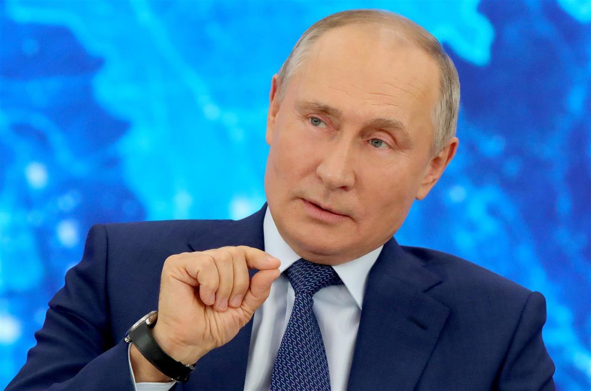 ロシアのプーチン大統領=2020年12月(タス=共同)