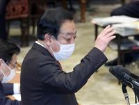 野田元首相が予算委に 野党、五輪混乱や菅首相長男問題で攻撃