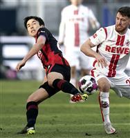 鎌田が先制点をアシスト 長谷部フル出場 サッカーのドイツ1部