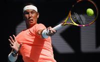 ナダルが5年連続8強入り 全豪テニス第8日