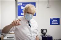 英、1500万人超に接種 コロナワクチン、1回以上