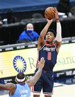 八村13得点、ウィザーズが約1カ月半ぶりの2連勝 NBA