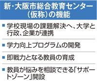 大阪市、新教育センター6年度開設目指す